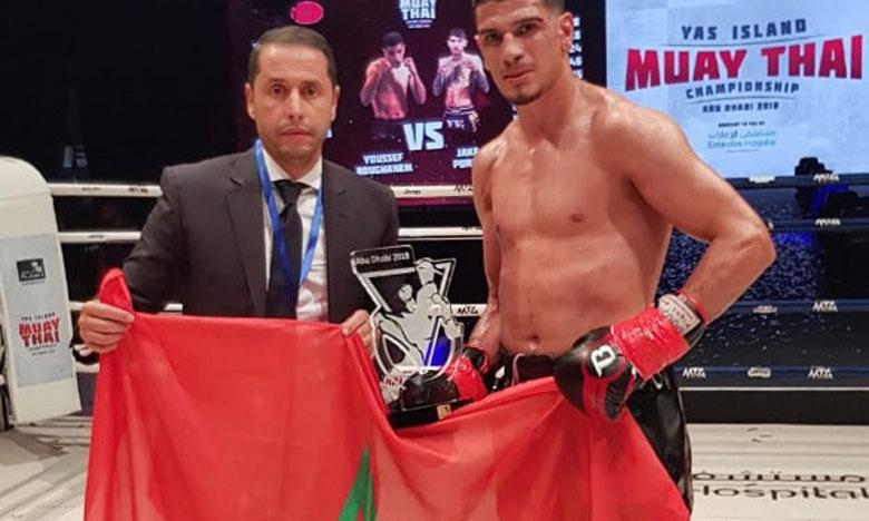 Le Marocain Youssef Boughanem élu  meilleur combattant de l'année par la WBC