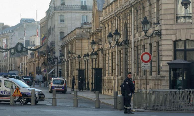 Quatre hommes sont soupçonnés d'avoir projeté de commettre un attentat au début du ramadan, et avaient effectué des repérages aux abords de l'Élysée.                 Ph. AFP