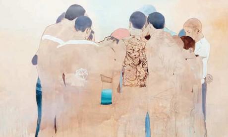 Les œuvres de Nabil  El Makhloufi à l'Atelier 21