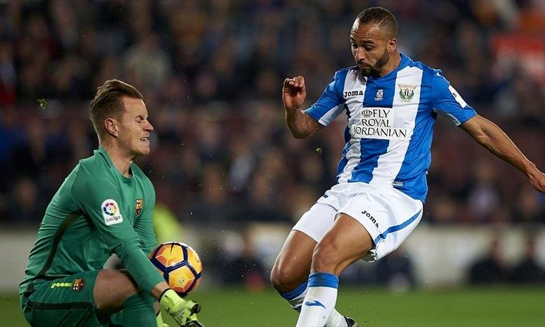 Nabil El Zhar quitte le Leganés après deux saisons et demie défendant les couleurs du club. Ph : AFP