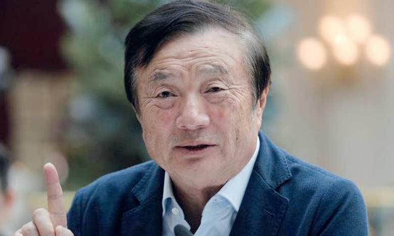 Le fondateur de Huawei, Ren Zhengfei, dit que son groupe ne se livre pas à des activités d'espionnage au profit de Pékin.  Ph. DR