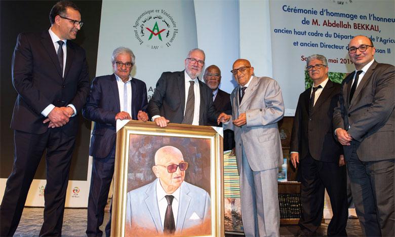 Hommage à Abdellah Bekkali, premier directeur de l'Institut agronomique et vétérinaire Hassan II