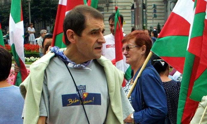 L'ancien leader de l'ETA Josu Ternera arrêté