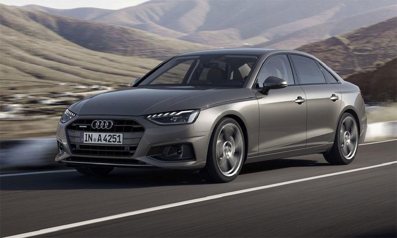 La combinaison de puissance, de couple et d'efficacité de la nouvelle Audi A4 en fait un modèle unique sur le segment.