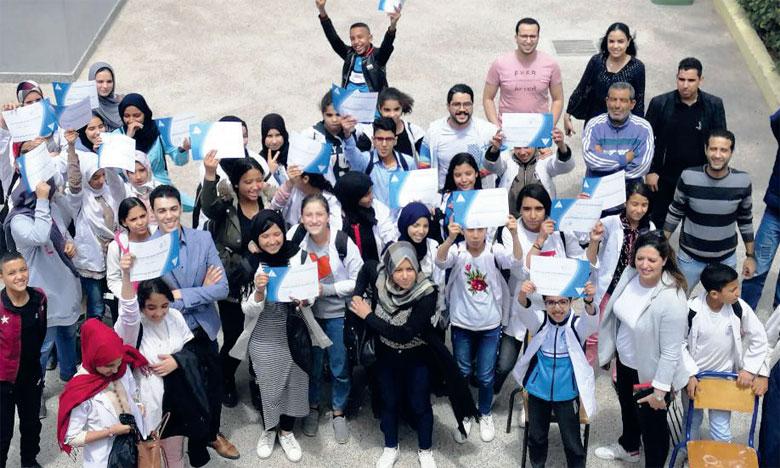 4.720 collégiens formés  à l'entrepreneuriat