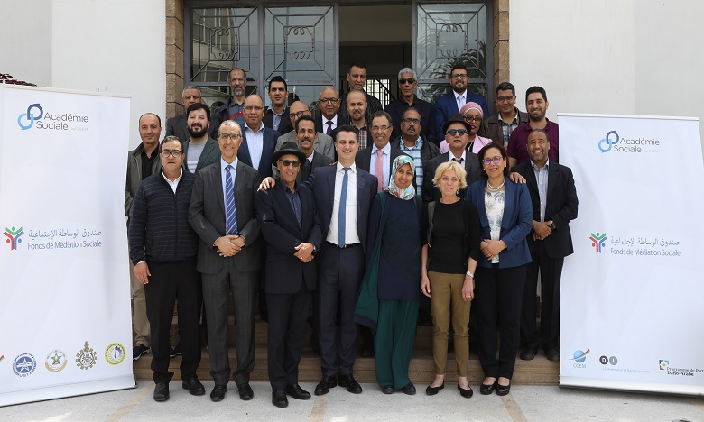 Les médiateurs sociaux marocains en formation à la CGEM