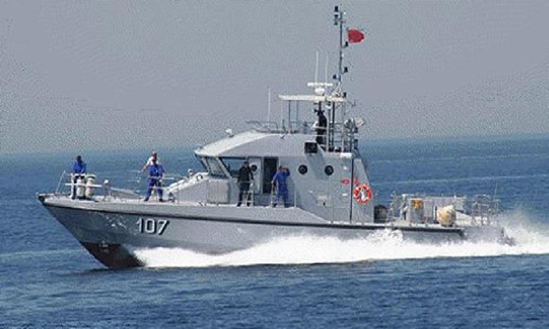 La Marine Royale porte secours à trois embarcations de fortune
