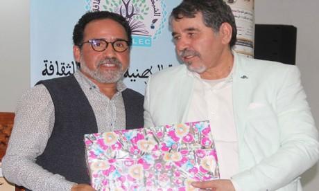 Hommage  au poète Salah Boussrif