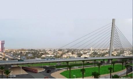Le pont à haubans de Sidi Maarouf ouvert demain
