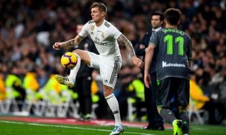 Toni Kroos prolonge avec Rela Madrid jusqu'en 2023