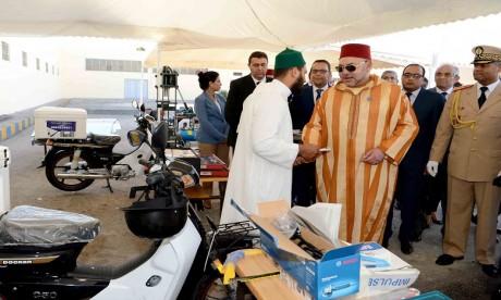 S.M. le Roi lance le Programme national d'appui aux micro-projets et à l'auto-emploi des ex-détenus