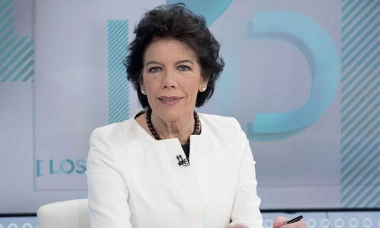 La porte-parole du gouvernement espagnol, Isabel  Celaa, a indiqué que l'ambassadeur d'Espagne à Genève avait envoyé deux notes de protestation à l'ONU.   Ph. DR