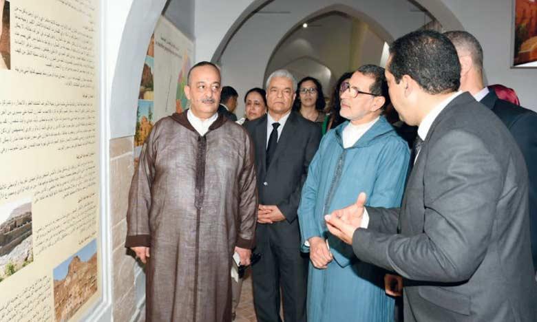 Exposition à la Casbah des Oudayas