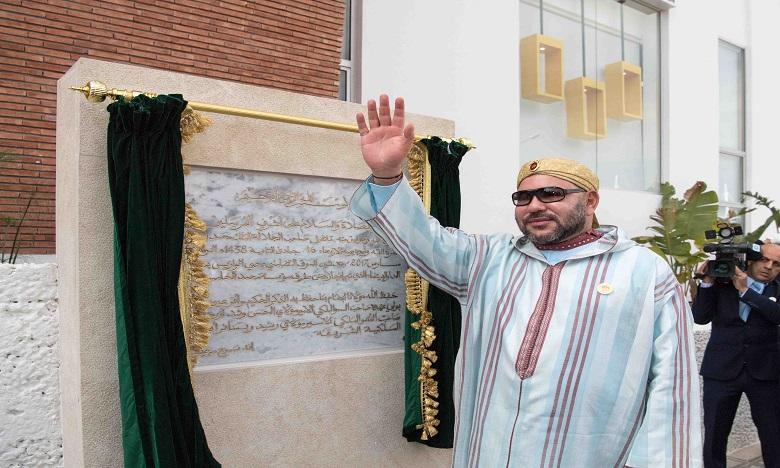 S.M. le Roi inaugure la section régionale du Centre National Mohammed VI des Handicapés à Casablanca