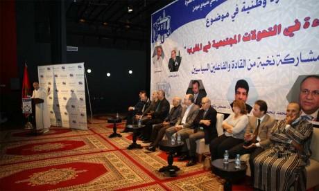 Le secrétaire général du PAM appelle à une réflexion sur les transformations sociétales