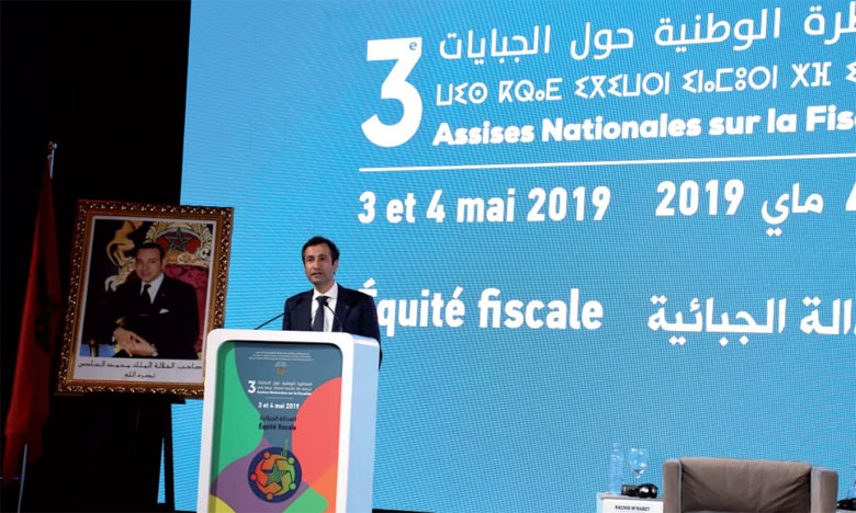 Le ministre de l'Économie et des finances a insisté sur l'importance de renforcer les droits des contribuables. Ph. Kartouch