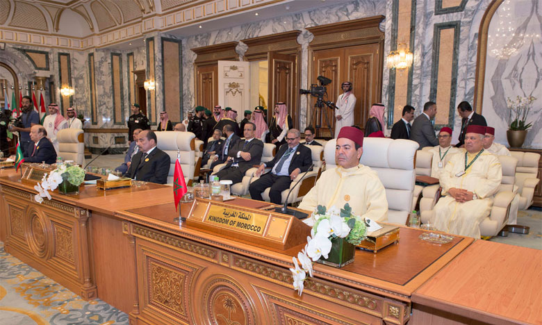 Arrivée à Jeddah de S.A.R. le Prince Moulay Rachid pour représenter S.M. le Roi aux Sommets arabe et islamique