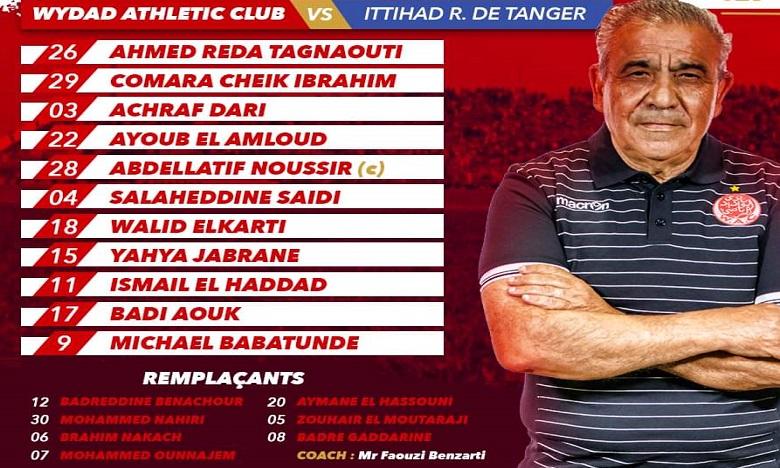 Ounajem de retour chez les Rouges, l'IRT sans Naghmi et Erraki