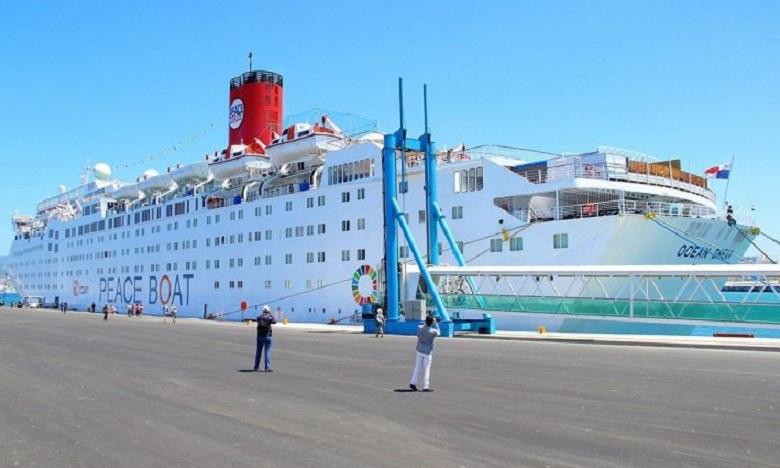 Après Tanger, le bateau amarrera à Ponta Delgada (Portugal), avant de mettre le cap sur sa destination finale, New York. Ph : DR