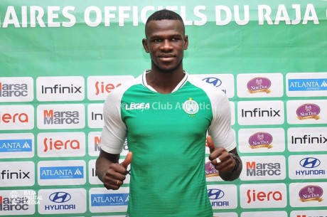 Salif Coulibaly officiellement au Raja de Casablanca