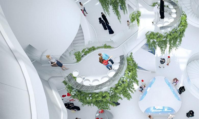 Un pavillon ultramoderne pour Emirates à l'Expo 2020 de Dubaï