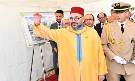 S.M. le Roi lance les travaux de construction d'un Centre médical de proximité à Salé
