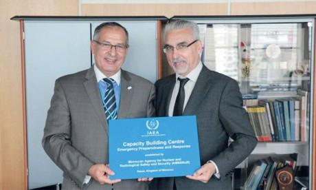 Le Maroc et l'Agence de l'énergie  atomique renforcent leur coopération