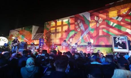 Le quartier Ain Sebaâ se pare d'une gigantesque fresque murale