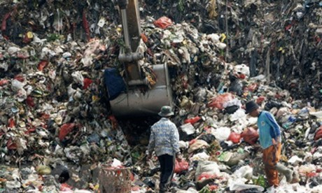 Des centaines de tonnes de déchets retournées à l'envoyeur