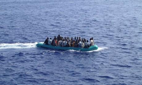 169 Subsahariens secourus par la Marine Royale à Méditerranée