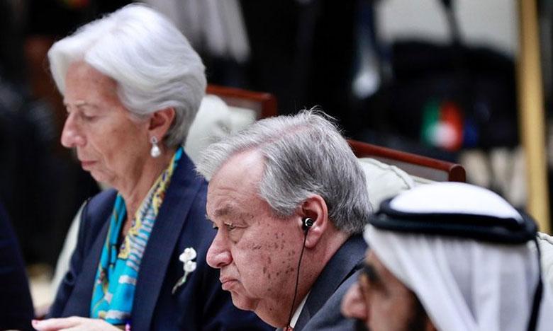 Le Secrétaire général de l'ONU lors de la rencontre sur la promotion du développement vert pour la mise en œuvre du programme 2030 à Beijing, en Chine. Ph. ONU