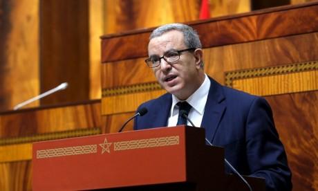 Aujjar: Le projet de loi relatif à l'exercice de la médecine légale tend à instaurer un cadre légal global