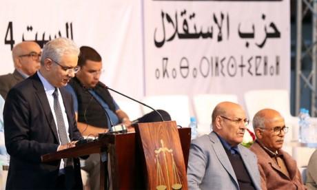 L'istiqlal plaide pour la réhabilitation  du champ politique