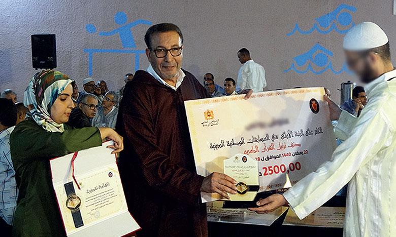 La célébration des prisonniers à travers les différents concours et compétitions témoigne des efforts déployés pour leur encadrement dans le domaine religieux.