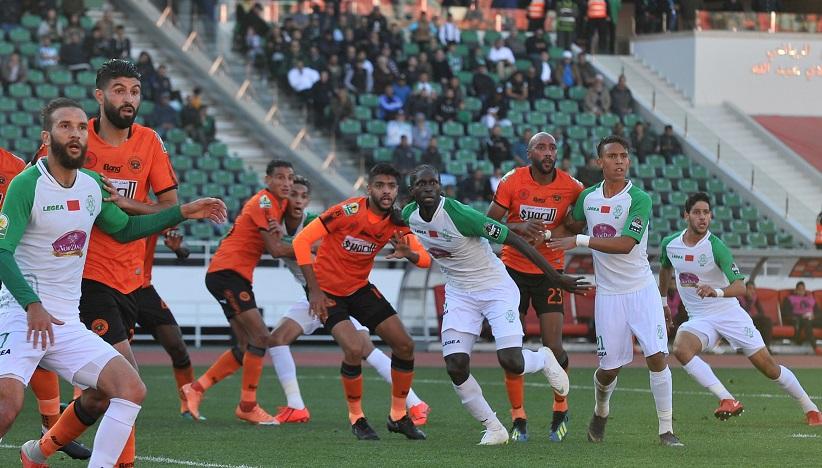 Le CS Sfaxien s'est incliné face à la Renaissance de Berkane lors du match disputé dimanche dernier au Maroc. Ph. MAP