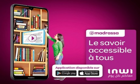 inwi lance l'application Emadrassa