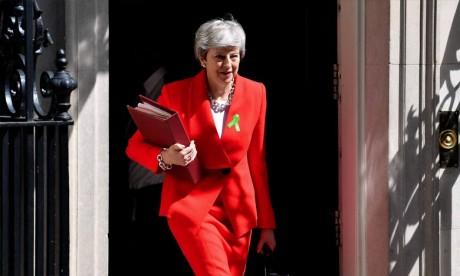 En cas d'annonce de sa démission vendredi, Theresa May devrait tout de même rester en poste jusqu'à l'élection d'un nouveau chef du parti conservateur. Ph : AFP