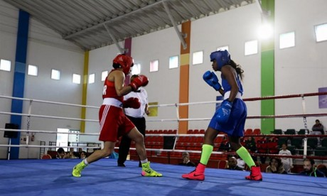 Boxe: La sélection nationale féminine participe au Tournoi international au Gabon