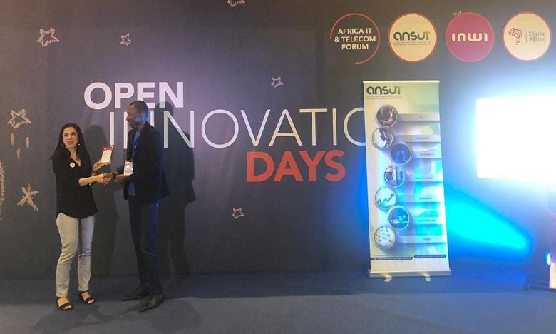 inwi a remis l'award de la transformation digitale à Etudesk, une startup ivoirienne. Ph. DR