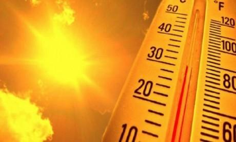 Alerte météo : Le thermomètre grimpe de  jeudi à dimanche