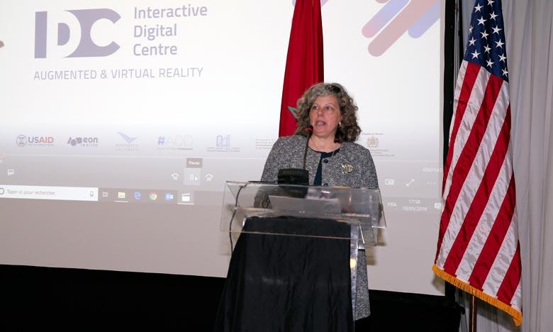 Lancement  du 1er Centre interactif digital
