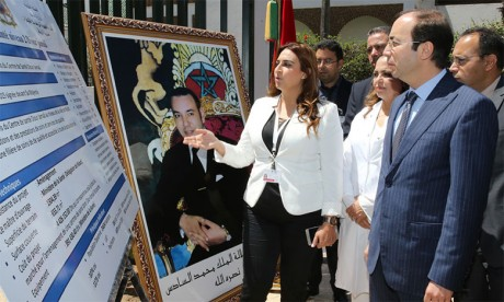 Inauguration d'un centre de santé  à Diour Jamaâ