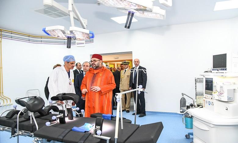 S.M. le Roi inaugure à Rabat un Centre médical de proximité