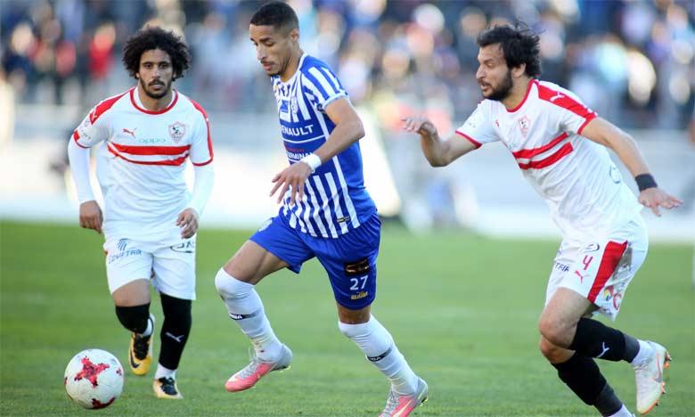 Rien que cette année, le Zamalek a éliminé l'Ittihad Tanger et le Hassania d'Agadir.