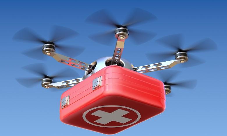Inédit : un rein livré par drone aux Etats-Unis