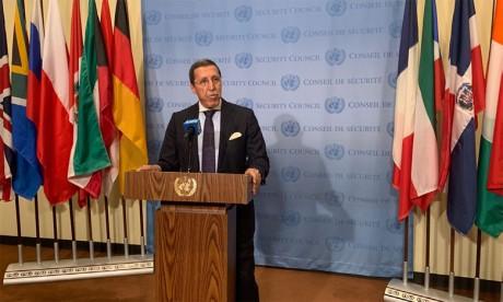 Omar Hilale : La résolution 2468 du Conseil de sécurité de l'ONU «répond largement aux attentes» du Maroc
