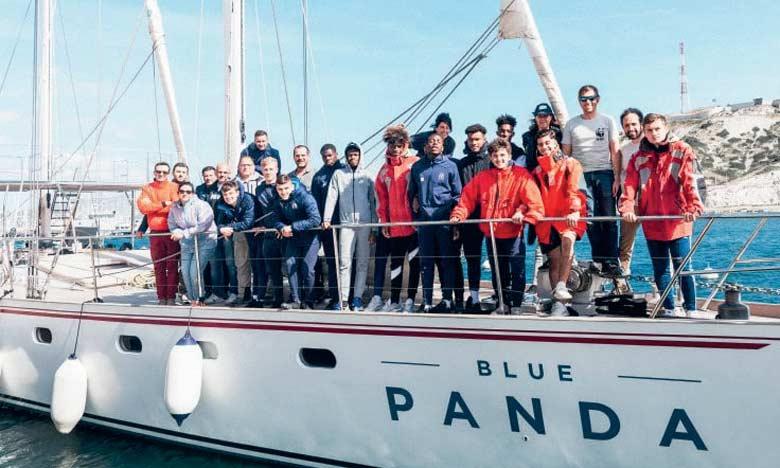 Le «Blue Panda», navire de 25 mètres, fera escale dans six pays du pourtour méditerranée. Ph. WWF