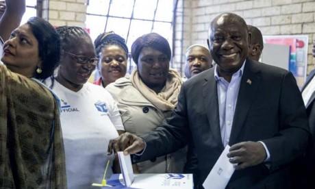 Le Congrès national africain donné favori aux élections législatives et régionales