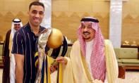 L'international marocain est devenu le buteur historique du championnat saoudien de football avec 34 buts. Ph : DR