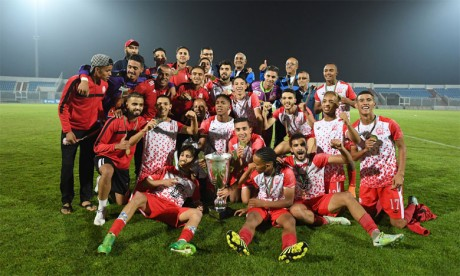 Le KACM sacré champion du Maroc